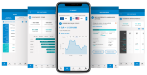 application mobile de gestion risque de change