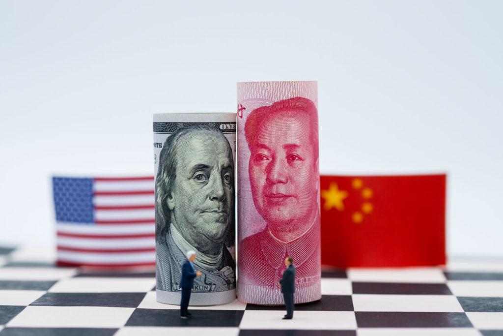 la Chine reçue à la Maison Blanche